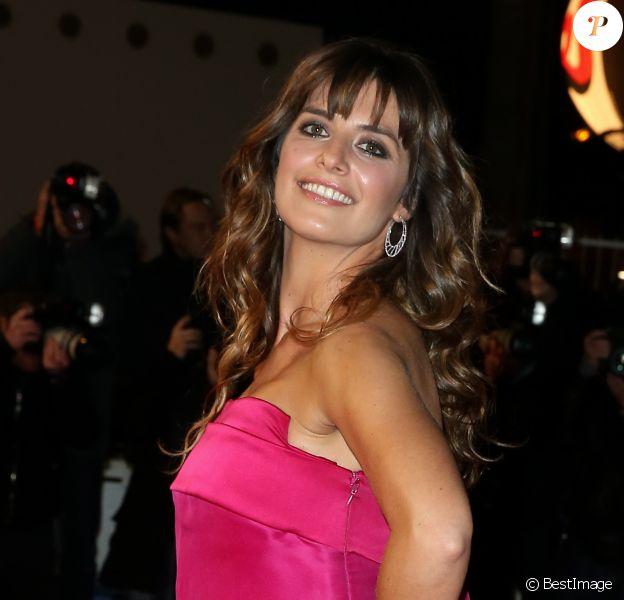La comédienne Laetitia Milot - 16e édition des NRJ Music Awards à Cannes. Le 13 décembre 2014.