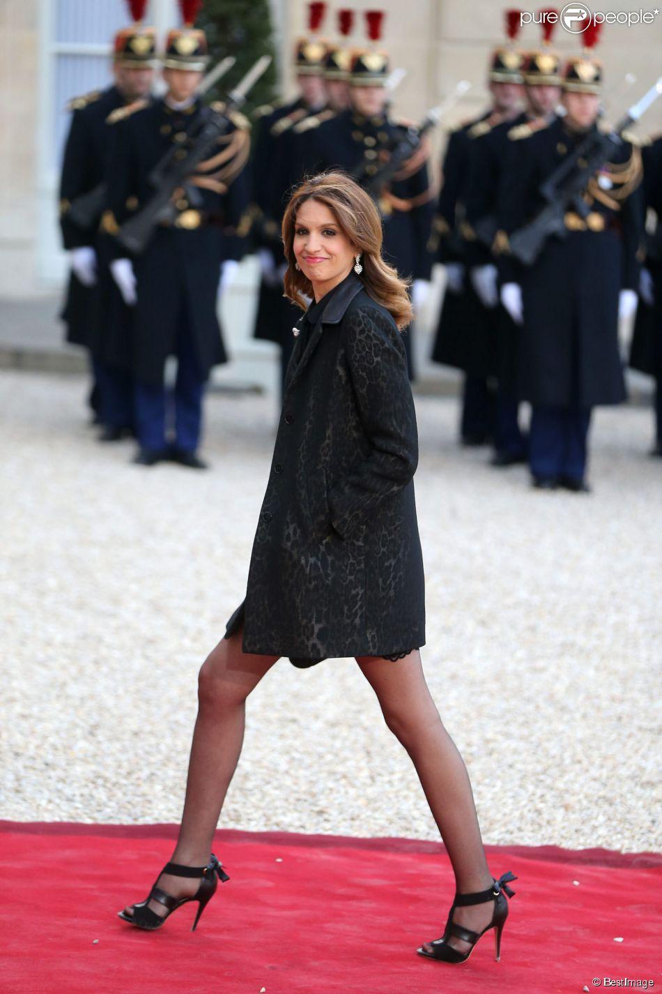 Sonia mabrouk d ner d 39 etat au palais de l 39 elys e en l 39 honneur du pr sident tunisien beji ca d - Sonia mabrouk en couple ...