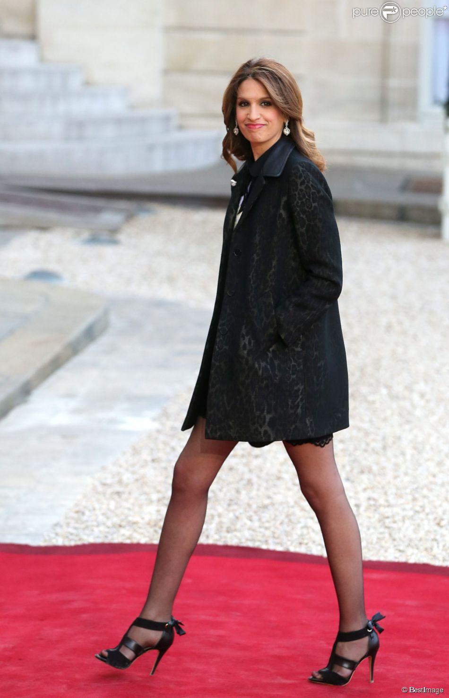 Sonia mabrouk d ner d 39 etat au palais de l 39 elys e en l 39 honneur du pr sident tunisien beji caid - Sonia mabrouk en couple ...