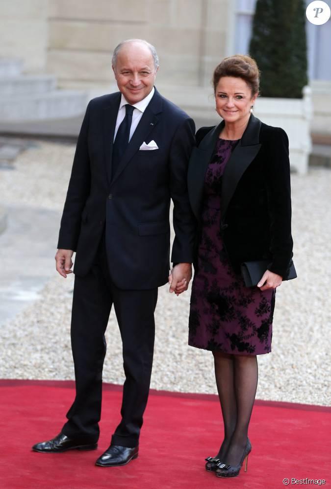 Laurent fabius et sa compagne marie france marchand baylet d ner d 39 etat au palais de l 39 elys e - Sonia mabrouk en couple ...