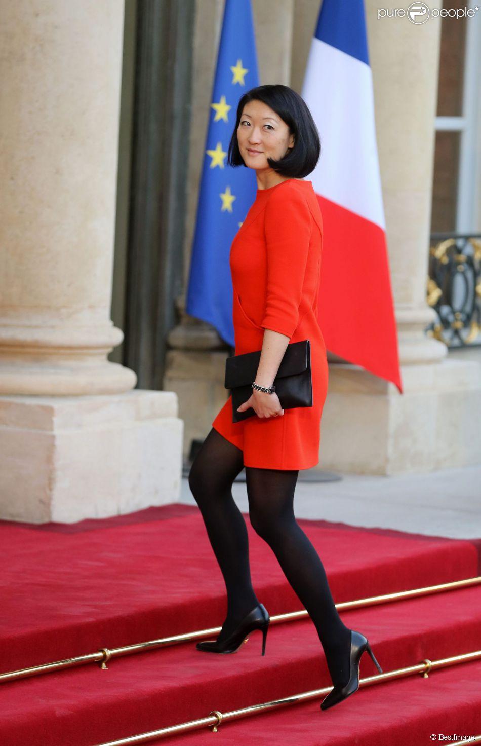 Fleur pellerin d ner d 39 etat au palais de l 39 elys e en l 39 honneur du pr sident tunisien beji ca d - Sonia mabrouk en couple ...