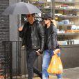 Jennifer Aniston et Justin Theroux à New York le 20 septembre 2011