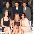 David Schwimmer, Matt Leblanc, Matthew Perry, Lisa Kudrow, Jennifer Aniston et Courteney Cox à Beverly Hills en 1997