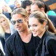 Brad Pitt et Angelina Jolie à Paris le 3 juin 2013.