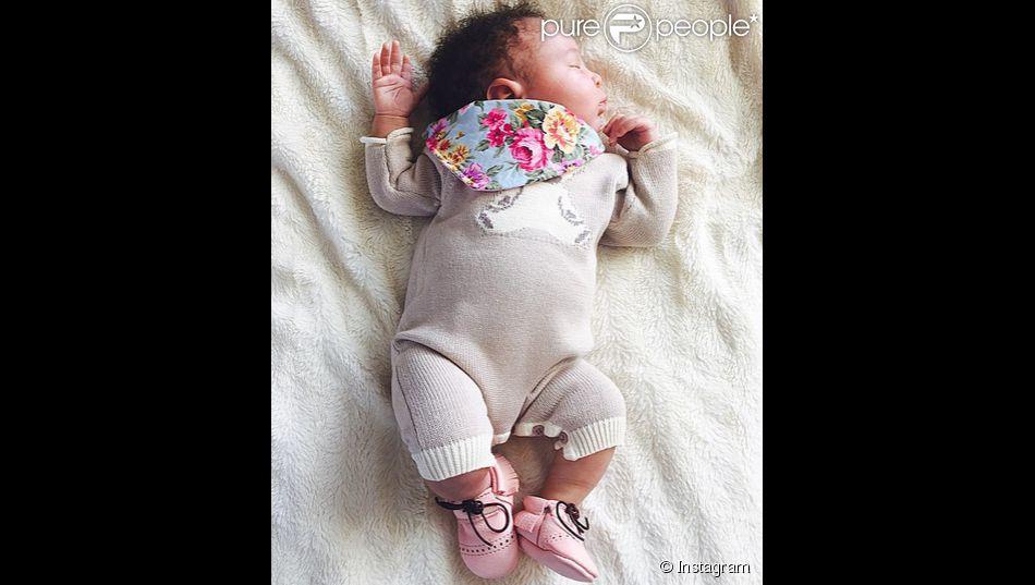 Samantha Mumba a publié une photo de sa fille Sage, le 7 avril 2015