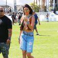 Kendall Jenner au 1er jour du Festival de Coachella, le 10 avril 2015.