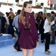 Cara Delevingne (tenue Reem Acra) lors des MTV Movie Awards à Los Angeles le 12 avril 2015