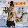Bai Ling lors des MTV Movie Awards à Los Angeles le 12 avril 2015