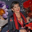 Isabelle Morini-Bosc - Photocall de la remise des trophées lors de la 10ème cérémonie des Globes de Cristal au Lido à Paris, le 13 avril 2015.