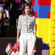 """Cobie Smulders - Première du film """"La Grande Aventure Lego"""" à Westwood, le 1er février 2014."""