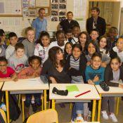 Astrid Veillon : Retour à l'école, elle rayonne et charme son public !