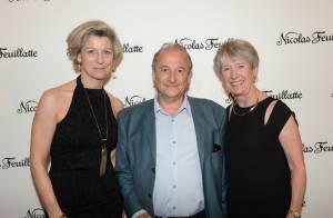 Tonya Kinzinger et Emmanuelle Boidron : Duo pétillant pour une soirée champagne