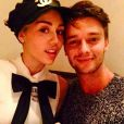 Patrick Schwarzenegger a ajouté une photo sur son compte Instagram en compagnie de son amoureuse Miley Cyrus, le 15 février 2015