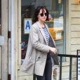 Dakota Johnson à Manhattan, New York le 17 avril 2015.