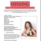 Janet Jackson, portée disparue : Un avis de recherche lancé, la chanteuse réagit