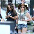 Hilary Duff au 2ème jour du festival Coachella, le 11 avril 2015