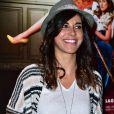 """Reem Kherici - Avant-première du film """"Connasse, Princesse des coeurs"""" au cinéma Elysées Biarritz à Paris, le 23 avril 2015."""