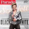 Couverture de Scarlett Johansson pour le magazine Parade.
