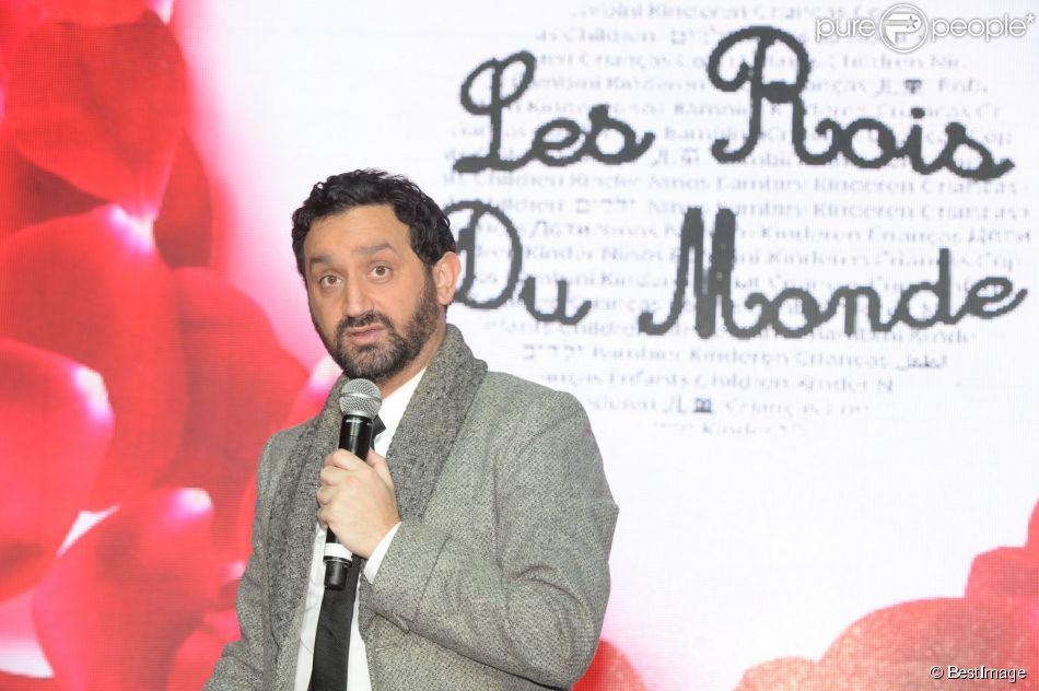 Cyril Hanouna à Paris le 9 mars 2015.