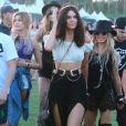 """Hailey Baldwin, Kendall Jenner, Fergie au 2ème jour du Festival """"Coachella Valley Music and Arts"""" à Indio, le 11 avril 2015"""