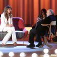 Claudia Galanti sur le plateau du Maurizio Constanzo Show sur Rete 4 le 25 avril 2015, pour y évoquer la mort de sa fille Indila, à 9 mois, le 3 décembre 2014, et sa vie après ce drame.