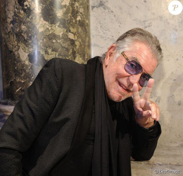 "Roberto Cavalli - People au défilé de mode ""Roberto Cavalli"" ors de la fashion week de Milan. Le 20 janvier 2015"