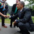 Barack Obama et ses nombreuses rencontres avec les enfants - le 27 juin 2014