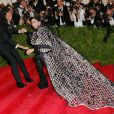 La chanteuse Lady Gaga au bal du Costume Institute, le Met Gala, au Metropolitan Museum of Art à New York, le 4 mai 2015.