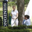 Athina Onassis au Longines Global Champions Tour à Madrid le 2 mai 2015