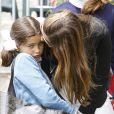 La princesse Eugenia de Bourbon avec sa maman la princesse Maria Margarita au Longines Global Champions Tour à Madrid le 1er mai 2015