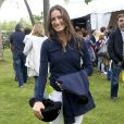 Jessica Springsteen au Longines Global Champions Tour au Club de Campo Villa à Madrid le 1er mai 2015