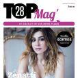 Julie Zenatti en couverture de Top Magazine 28