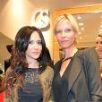 Exclusif - Fabienne Carat et Rebecca Hampton à l'inauguration de la nouvelle boutique Carmen Steffens à Cannes. Le 13 décembre 2013.