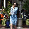 """Kylie Jenner est allée faire du shopping chez """"Fred Segal"""" à West Hollywood, le 31 mars 2015"""