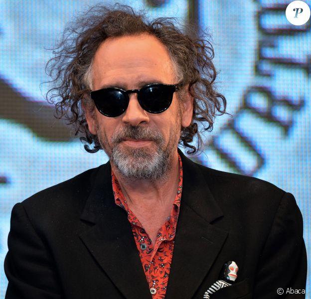 Tim Burton à Tokyo, le 31 octobre 2014.