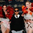 "Willy Denzey - Photocall ""Top Model Belgium 2015"" au Lido à Paris. Le 10 mai 2015 10/05/2015 - Paris"
