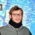 Amaury Leveaux à l'avant-première du film d'animation Disney Les Nouveaux Héros au cinéma UGC Ciné Cité des Halles à Paris, le 22 janvier 2015.