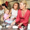 Duke Rancic, Giuliana Rancic, Sandra Lee à Culver City, Los Angeles, le 15 juillet 2014