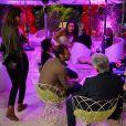 Exclusif - Dîner de l'équipe du Grand Journal de Canal Plus à la suite Sandra and Co au 63 la Croisette, à l'occasion du 68e Festival international du film de Cannes. Le 12 mai 2015