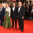 """Montée des marches du film """"The Tale of tales"""" lors du 68e Festival International du Film de Cannes, le 14 mai 2015."""