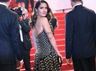 Salma Hayek, belle comme dans un conte, non loin de son amoureux à Cannes
