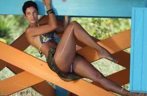 Nicole Murphy : Torride en bikini, l'ex d'Eddie Murphy impressionne
