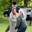 La reine Elizabeth II au Royal Windsor Horse Show le 15 mai 2015