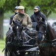 Le prince Philip, duc d'Edimbourg, au Royal Windsor Horse Show le 14 mai 2015