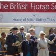 La reine Elizabeth II d'Angleterre et Camilla Parker Bowles au Royal Windsor Horse Show le 13 mai 2015