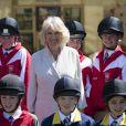 Camilla Parker Bowles au Royal Windsor Horse Show le 13 mai 2015