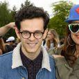 """Michael Gregorio et Laam - Lancement de la campagne """"Vacances d'été 2015"""" du Secours Populaire à Disneyland Paris. Le 16 mai 2015"""
