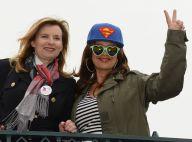 Valérie Trierweiler et Lââm complices à Disneyland avec les enfants