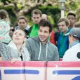 """Damien Lauretta - Lancement de la campagne """"Vacances d'été 2015"""" du Secours Populaire à Disneyland Paris. Le 16 mai 2015"""