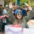"""Laam - Lancement de la campagne """"Vacances d'été 2015"""" du Secours Populaire à Disneyland Paris. Le 16 mai 2015"""